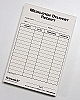 Medication Delivery Record - pad of 100 sheets