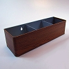 Vintage Mobile Organizer Tray - Boston Cherry