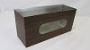 Vintage Mobile Glove/Tissue Box - Antique Walnut