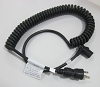 Avalo ACi Spiral Power Cord - Hospital Grade