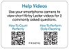 Laminated Label: Kirby Lester Help Videos