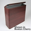 Vintage Mobile Trash Can - Boston Cherry