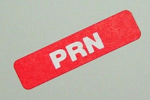 Select Series - Time Bar Label - PRN - roll of 500