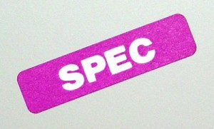 Select Series - Time Bar Label - SPEC  - roll of 500