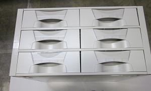 Avalo AC Three-Tier Cassette Package - 8 inch Bins