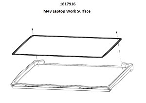 M48 Assembly Laptop Worksurface