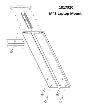 M48 CareLink Assembly Laptop Extrusion