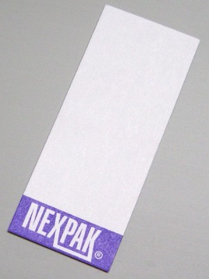 NexPak Label Card - package of 100