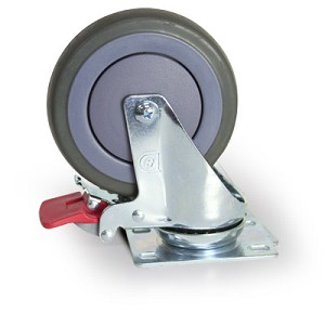 Avalo Swivel Caster with Brake - 5 inch