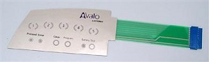 Avalo Flat Switch Keypad Kit