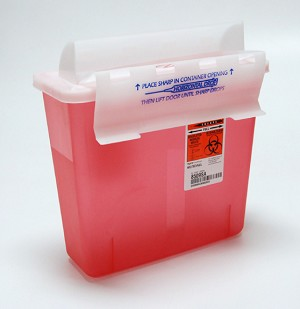 Avalo Sharps Container Insert- 5 quart